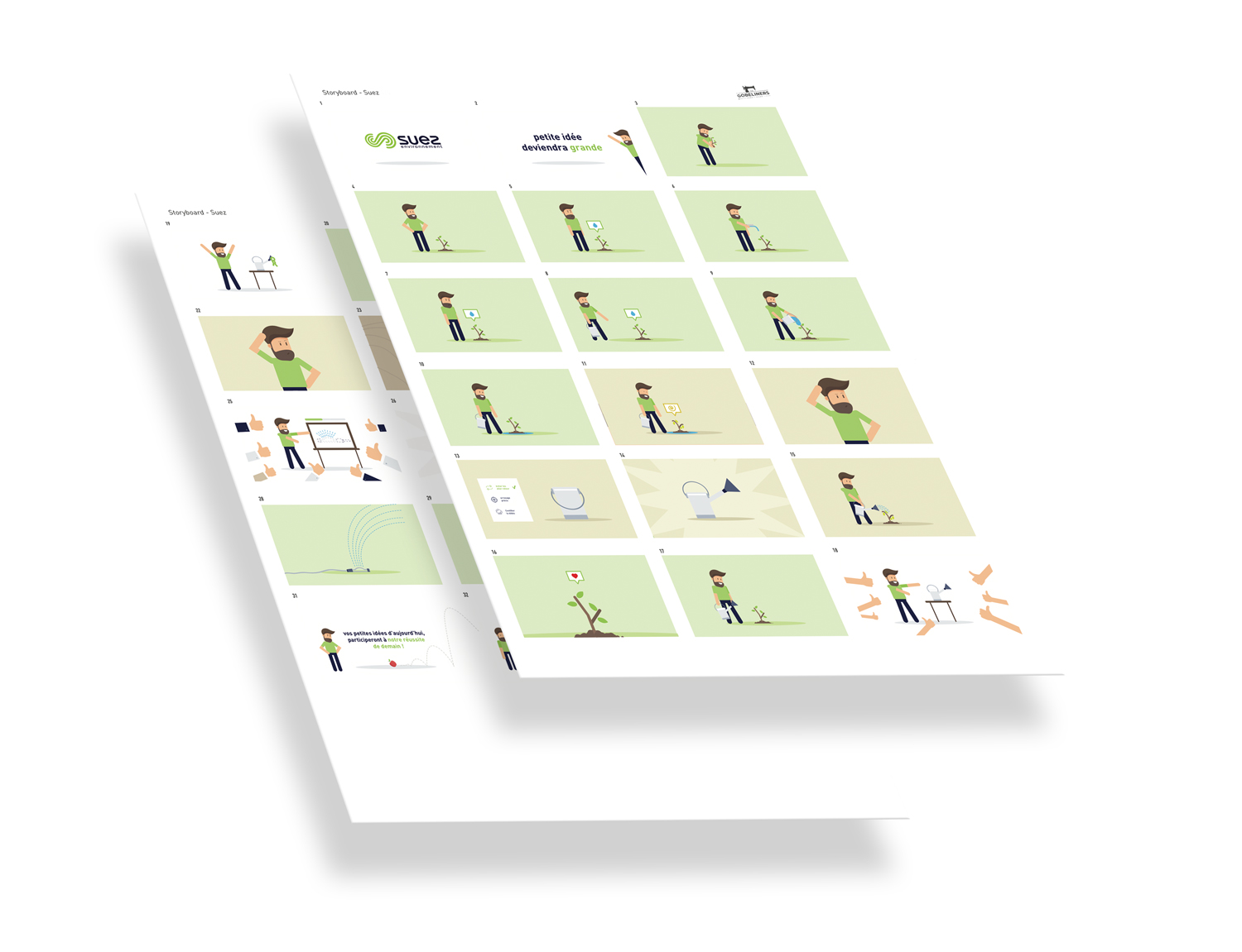 Storyboard et Animations